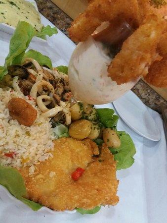 Bombas: Ilha do morada...um prato delicioso que serve muito bem um casal