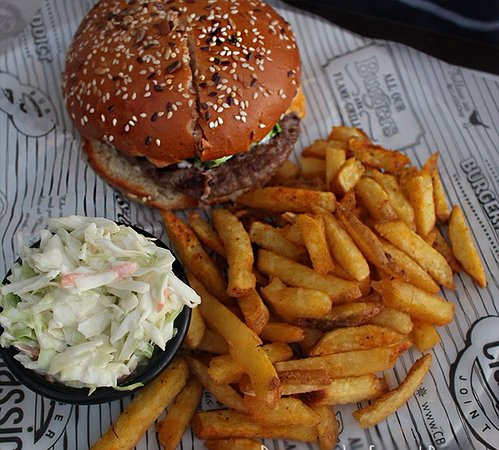Classic Burger Joint: Classic Cheese Burger