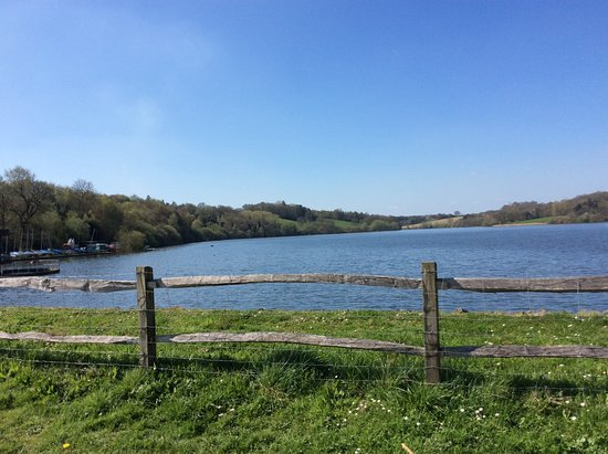 Ardingly, UK: View from the South side of the Reservoir