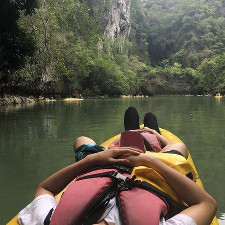 John Gray's Hong by Starlight with Sea Cave Kayaking and Loy Krathong Floating Φωτογραφία