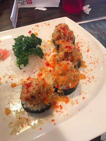 Hot Springs Village, Арканзас: Spicy tuna baked