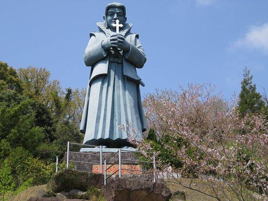Ai no Amakusamura: 天草四郎の像