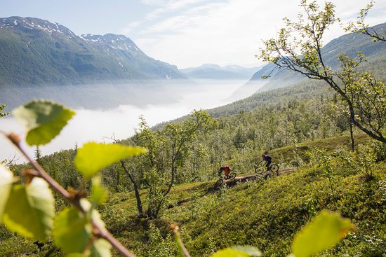 Mountainbiking in Narvik Photo: Eric Mulder