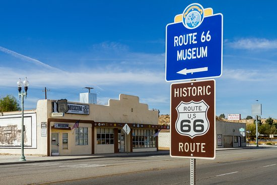 The museum is located in the city of Victorville on Old Route 66 (aka D Street) with free admiss