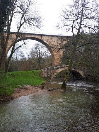"""Pierre-Perthuis, France: Les Deux Ponts  """" Grand-Pont et Pont de Ternos """""""