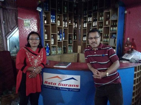Dadeldhura, Nepál: couple