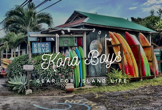 Kealakekua, Χαβάη: Outside of the shop....north side