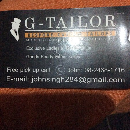 G Tailor 사진