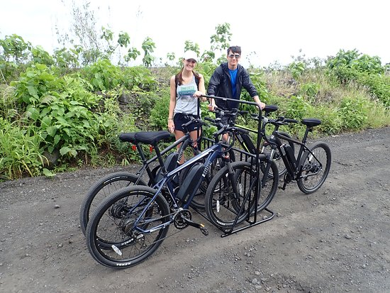 Pahoa, Hawái: ebikes... def the way to go!!