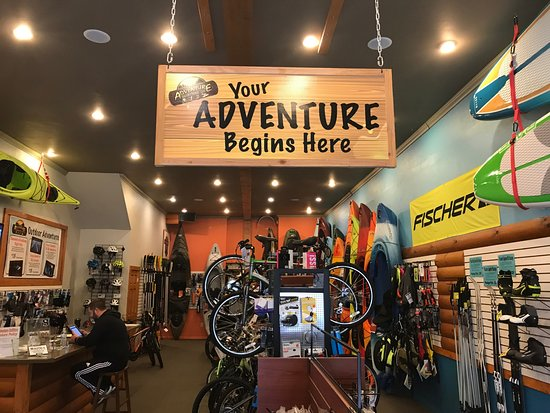 Waupaca, WI: Outdoor gear sales, rentals and guided tours.  Full service bicycle shop.