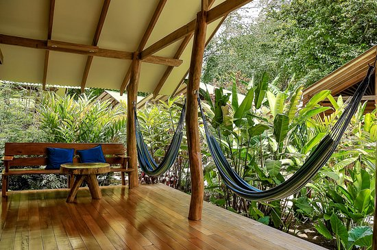 Cocles, Costa Rica: Large deck 15 m2 with a total privacy