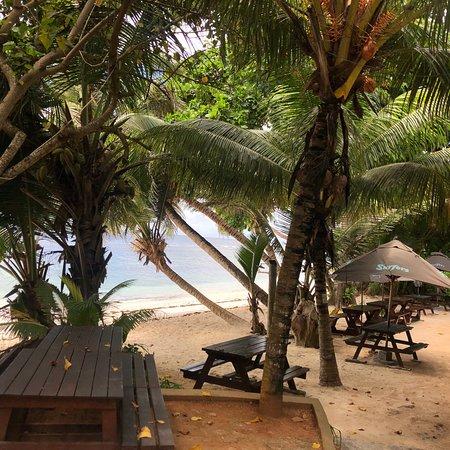 Surfers Beach Restaurant: Restaurant bar face a la mer