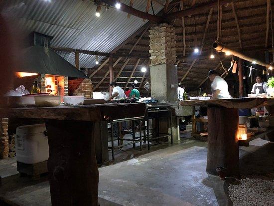 Small Lively Kitchen Picture Of Kitchen Table Tulum TripAdvisor - Kitchen table tulum