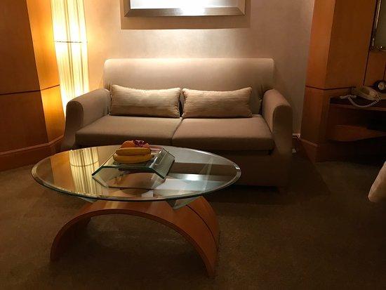 Makati Shangri-La Manila: Sofa