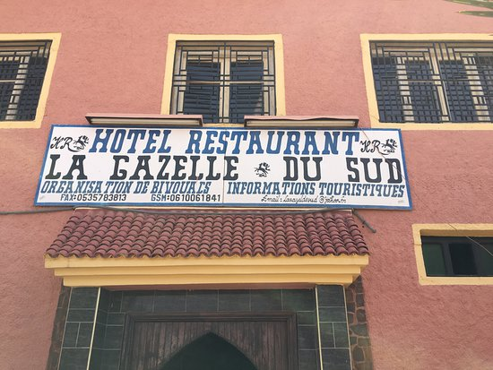 Alnif, โมร็อกโก: ingresso del ristorante