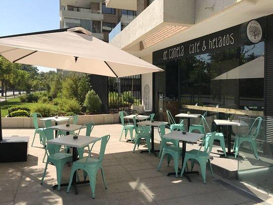 Terraza Picture Of De Canela Cafe Helados Santiago