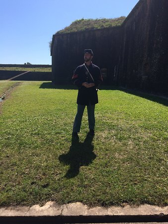 Fort Morgan, AL: Dylan our most knowledgable tour guide!