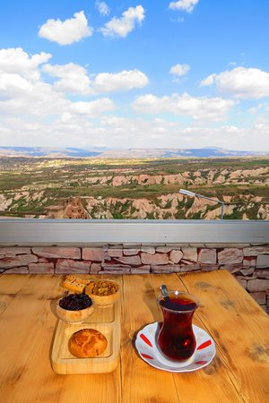 Uchisar Cave Pansion: Tavşan kanı Demleme çayımız