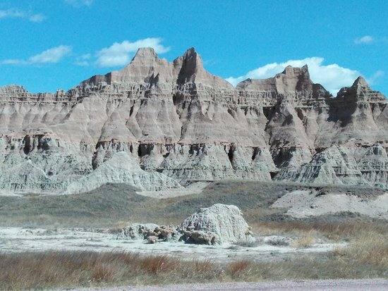 Interior, Dakota del Sur: One of the many formations at the park