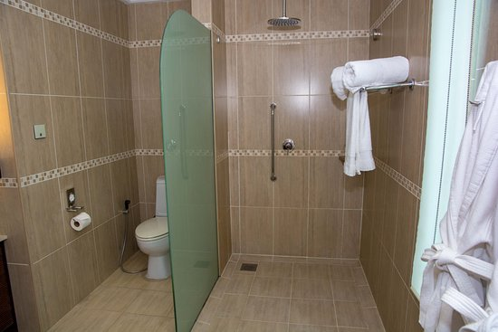 Anse Forbans, Σεϋχέλλες: Toilette und Dusche
