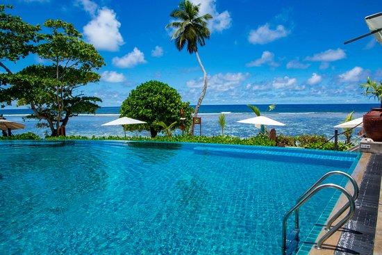 Anse Forbans, Seychellene: Hotelpool