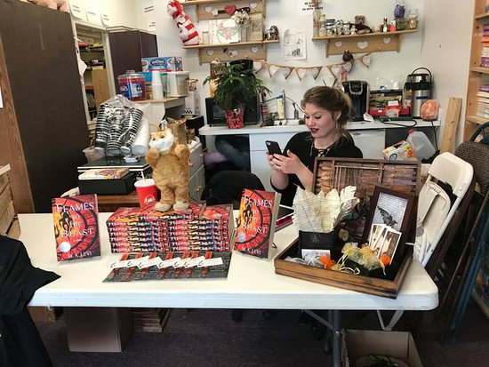 Grand Blanc, MI: We love having local authors in for book signings!