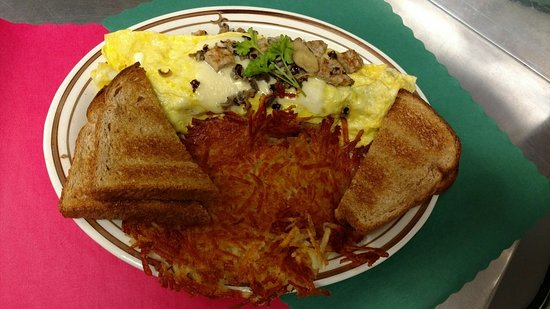 Pequot Lakes, MN: Wild Rice Omelette!