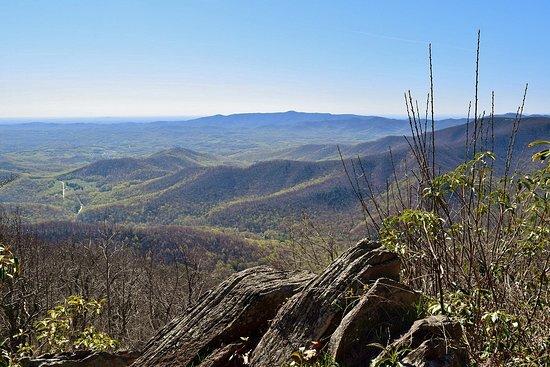 Floyd, VA: View from Rocky Knob