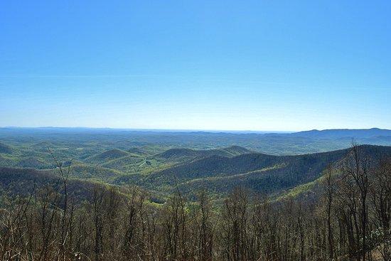 Floyd, VA: View from Rock Castle Gorge Overlook