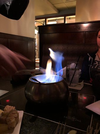 Town and Country, MO: The flambe option added some extra fun.