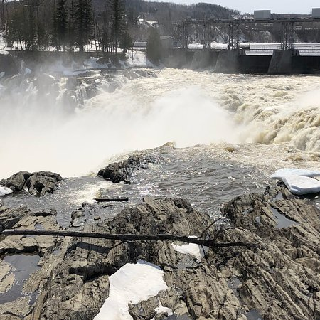Grand Falls, Canadá: Best viewed in the Freshet