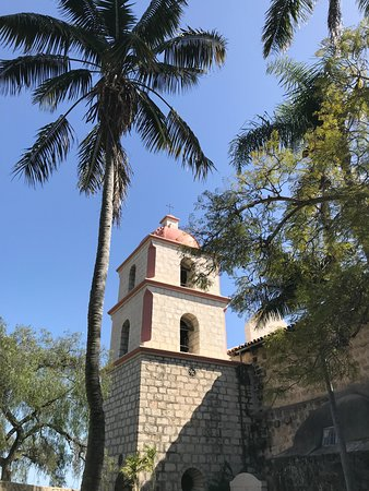 Mission San Diego de Alcala: the bell tower