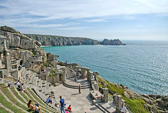 Padstow, UK: The Minack Theatre