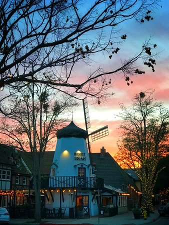 Solvang evening April