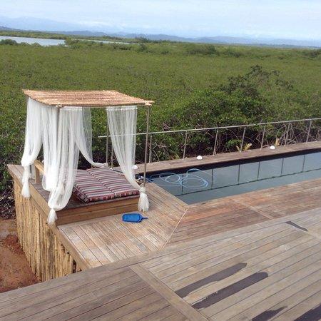 Isla Solarte, Panama: Villa paradisio Fabienne & Benoît  Un accueil chaleureux , cet hôtel restaurant magnifique surpl