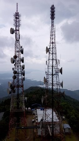 Lahad Datu, ماليزيا: from the tower