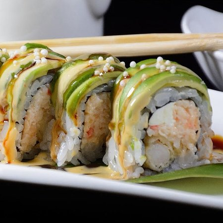 Clive, IA: Green Dragon Roll
