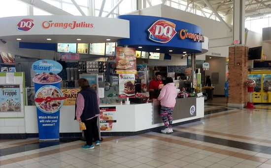 counter for Dairy Queen at the Belvidere Oasis