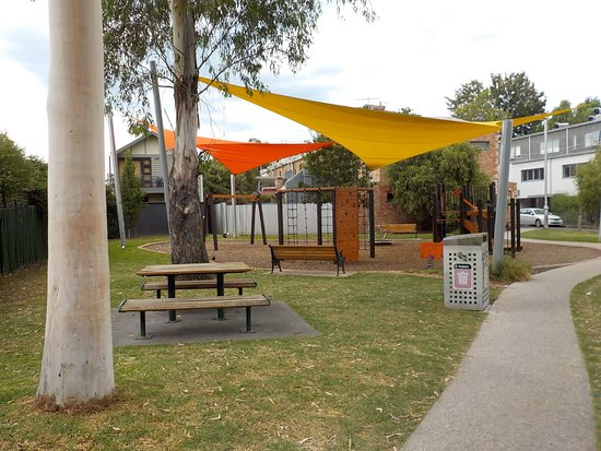 Richmond, Australia: Shaded playground