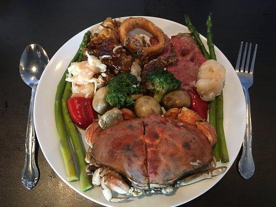 Franklin, WI: Dungeness Crab - yummy!
