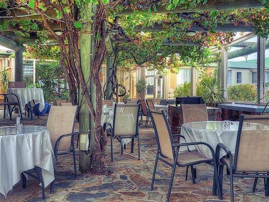 American River, Australië: Restaurant