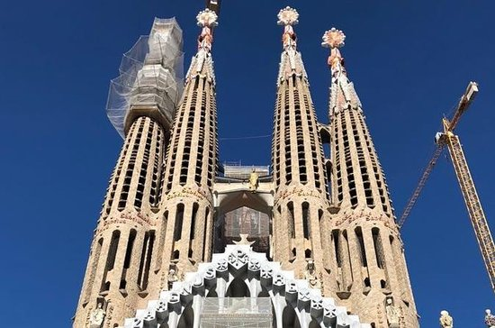 Basilica of the Sagrada Familia...