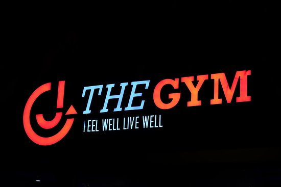 Pak Nam, Thailand: Logo at The GYM