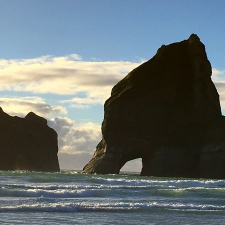Golden Bay, New Zealand: Archway Islands, Wharariki Beach