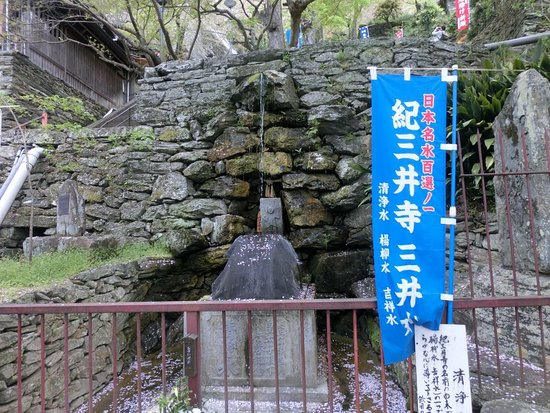 Kimii-dera Sanseisui: 清浄水です