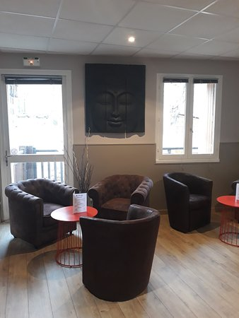 Villars-Colmars, Γαλλία: Le Bar de L'hotel Le Martagon