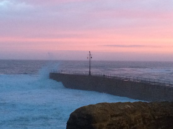 Porthleven Harbour: Harbour jetty