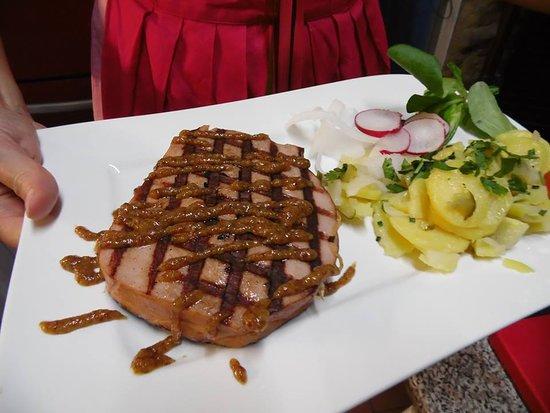 Sangerhausen, ألمانيا: bavarian cuisine
