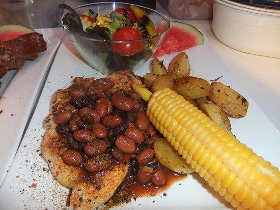 Sangerhausen, Germany: Mexican chicken