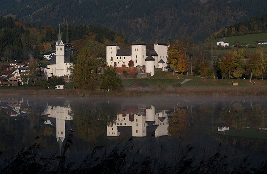 Goldegg am See, ออสเตรีย: Morgenstimmung